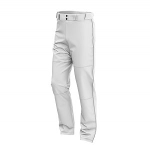 OPEN BOTTOM RELAXED FIT BASEBALL PANT