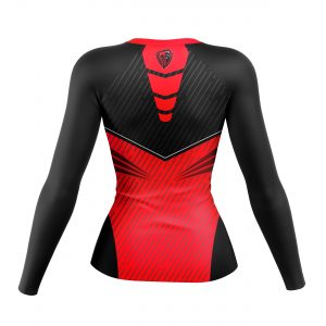 LONG SLEEVE VOLLEYBALL COMPRESSION JERSEY